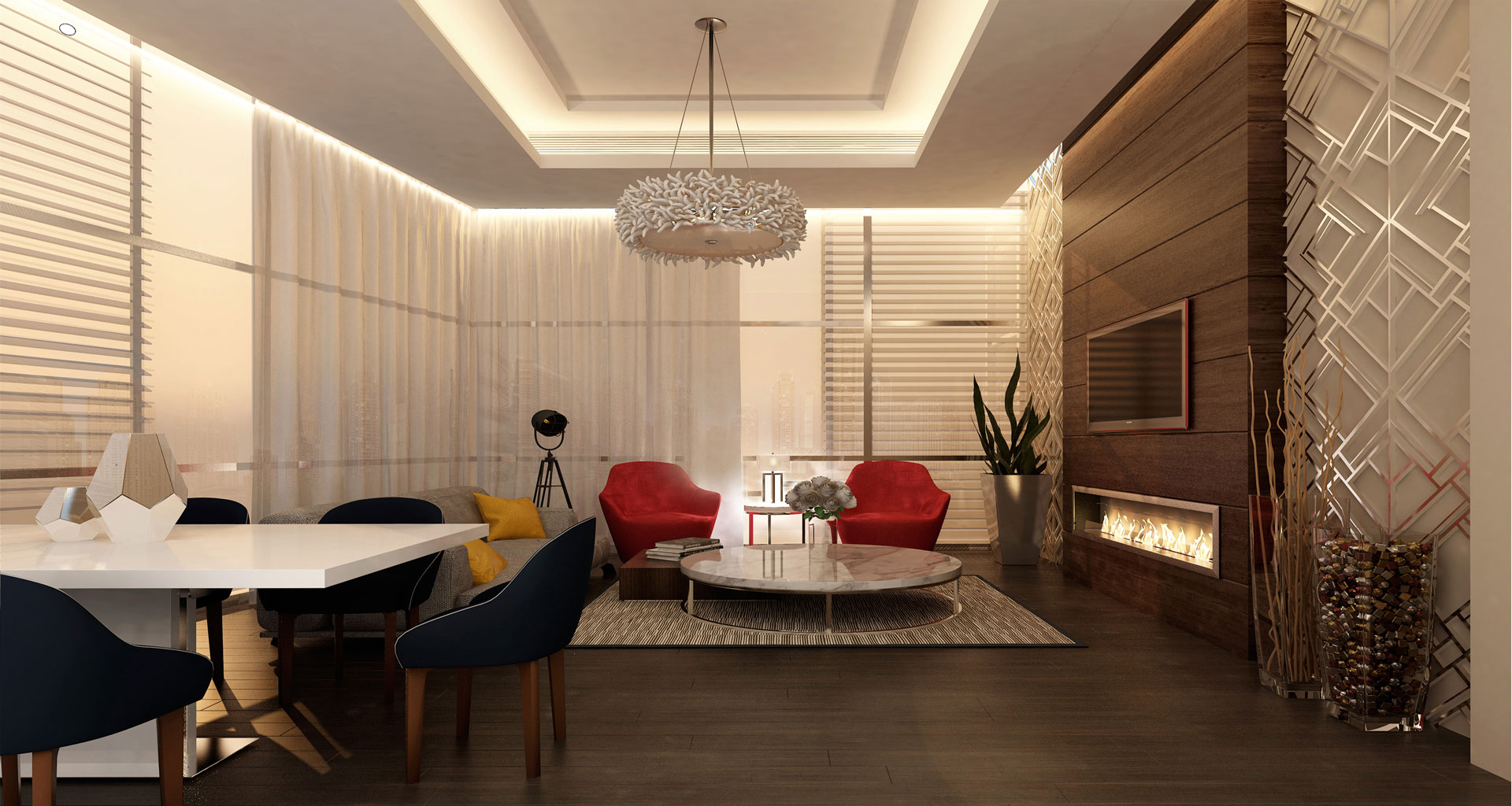 G+7 Residential Building Warsan